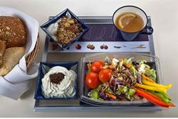 El Al's New Airplane Breakfast Photo by Anatoly Michalo
